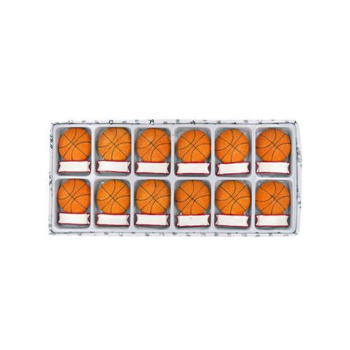Decorative Basketball Magnets Set ( Case of 16 )