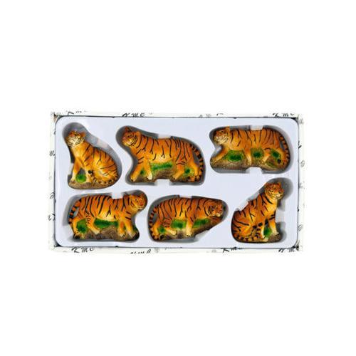 Decorative Safari Tiger Magnets Set ( Case of 12 )