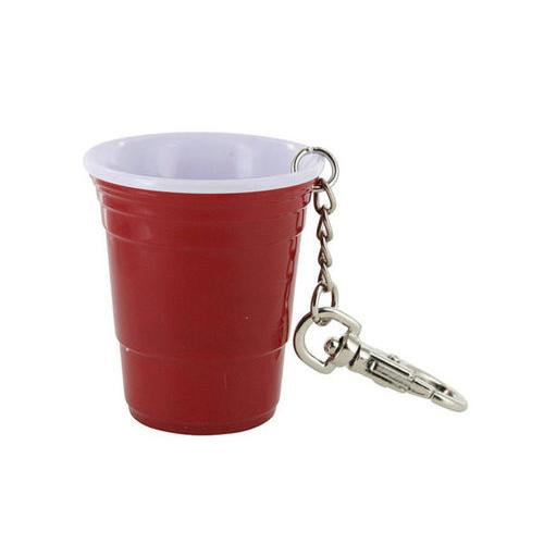 Red Cup Theme Keychain ( Case of 72 )