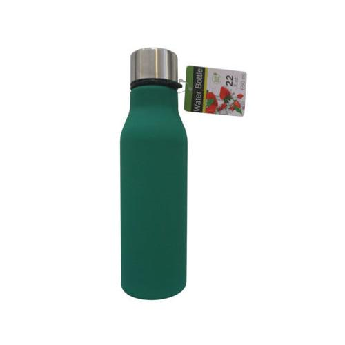 22 oz Solid Color Water Bottle ( Case of 8 )