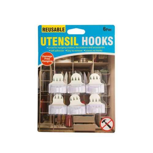 Reusable Utensil Hooks Set ( Case of 40 )