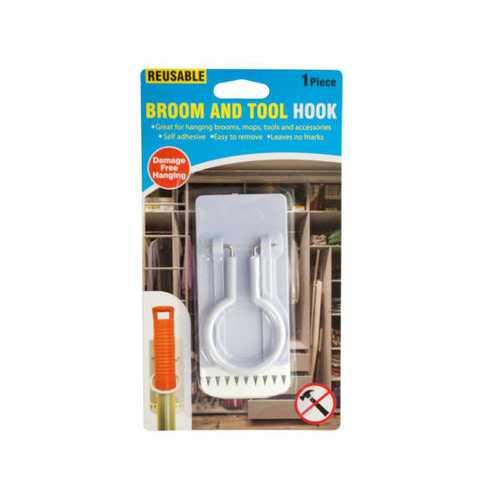 Reusable Broom & Tool Hook ( Case of 60 )