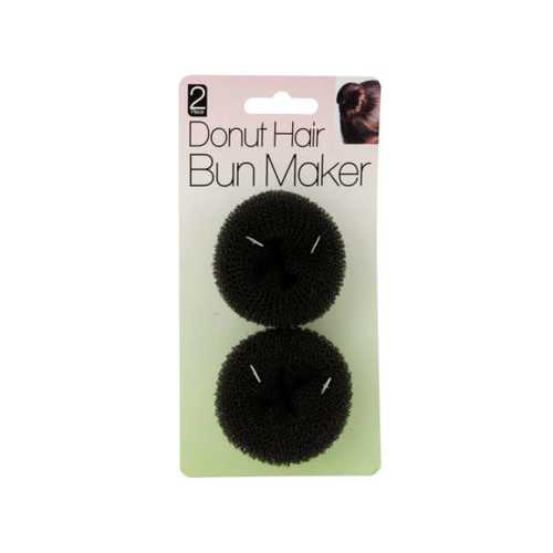 Donut Hair Bun Maker Set ( Case of 40 )