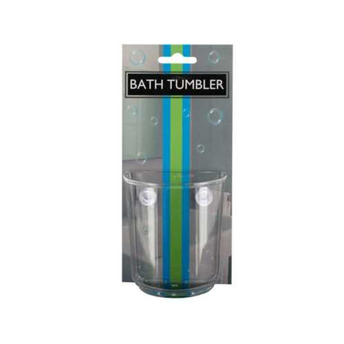 Bath Tumbler with Suction Cups ( Case of 48 )