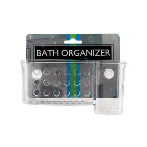 Bath Organizer with Suction Cups ( Case of 36 )