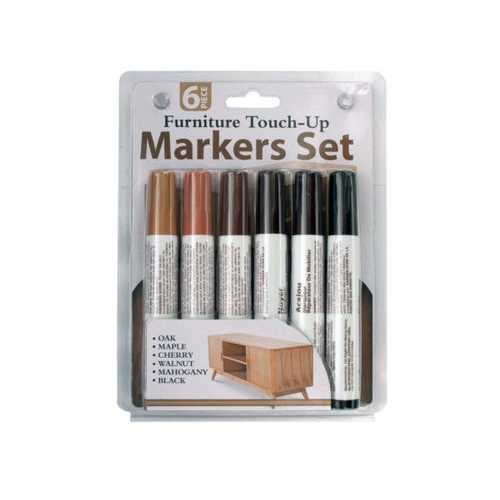 Furniture Touch-Up Markers Set ( Case of 6 )