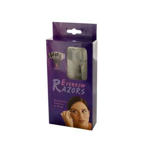 Eyebrow Razors Set ( Case of 20 )
