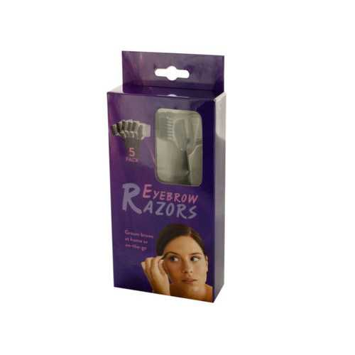 Eyebrow Razors Set ( Case of 60 )