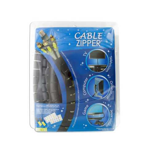 Cable Zipper Wire Management System ( Case of 6 )