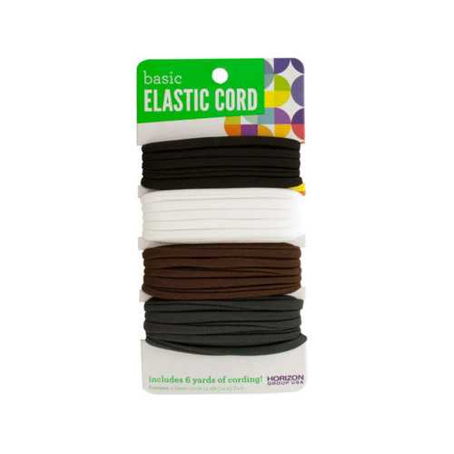 Basic Elastic Craft Cord Set ( Case of 48 )