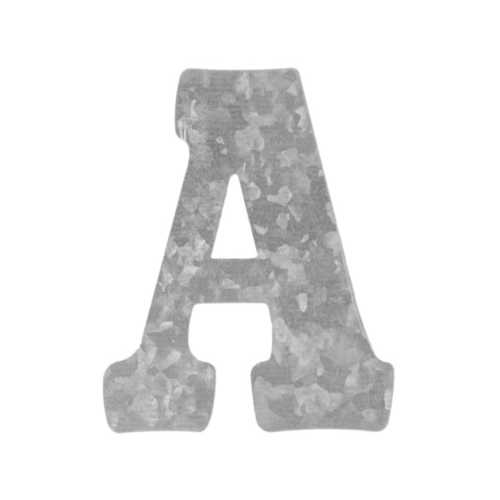 Craft Metal Letter 'A' Hanging Wall Decoration ( Case of 144 )