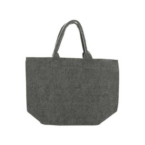 Feltables Charcoal Flat Bottom Tote ( Case of 24 )