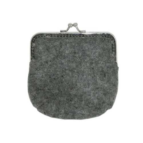 Feltables Charcoal Coin Purse ( Case of 48 )