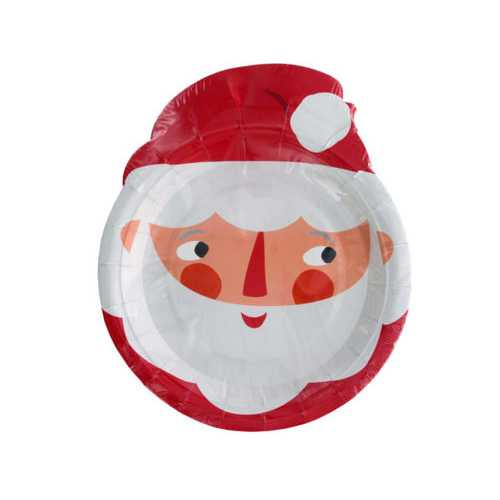 Waiting for Santa Party Plates ( Case of 36 )