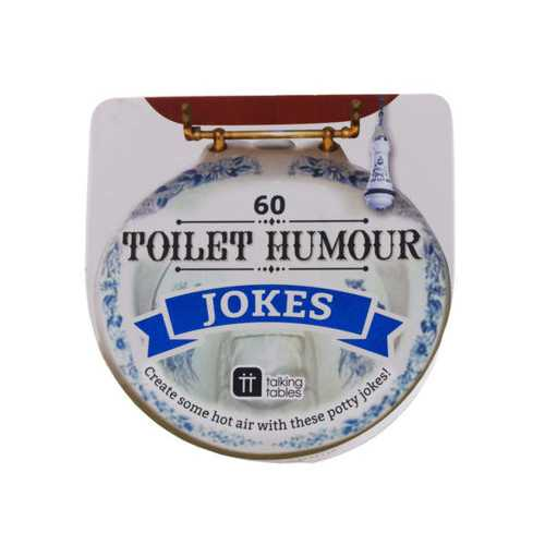 Toilet Humor Joke Card Box ( Case of 60 )