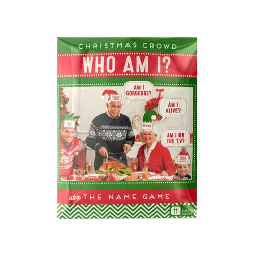 Christmas Crowd Who Am I Name Game ( Case of 24 )