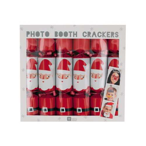 Christmas Photo Booth Crackers ( Case of 24 )