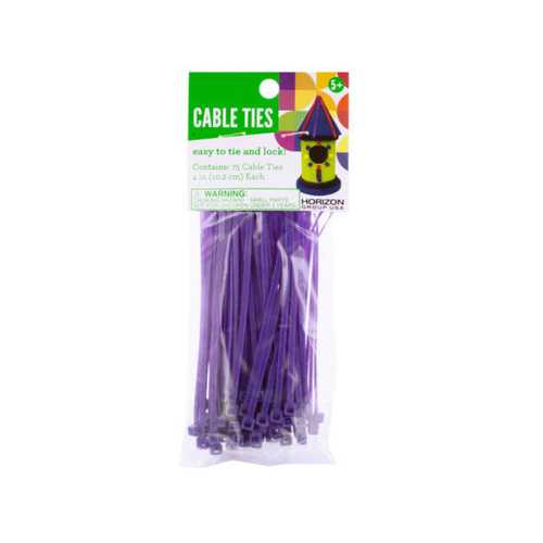 Craft Cable Ties ( Case of 72 )