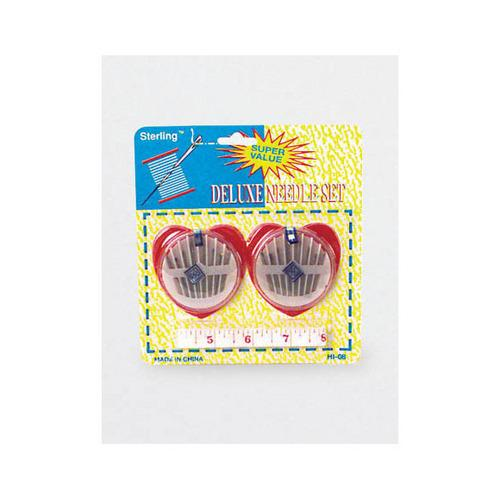 Sewing Needle Set with Measuring Tape ( Case of 72 )