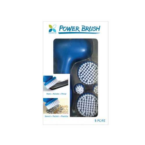 Cordless Power Brush Painting & Stenciling Tool with 4 Tips ( Case of 24 )