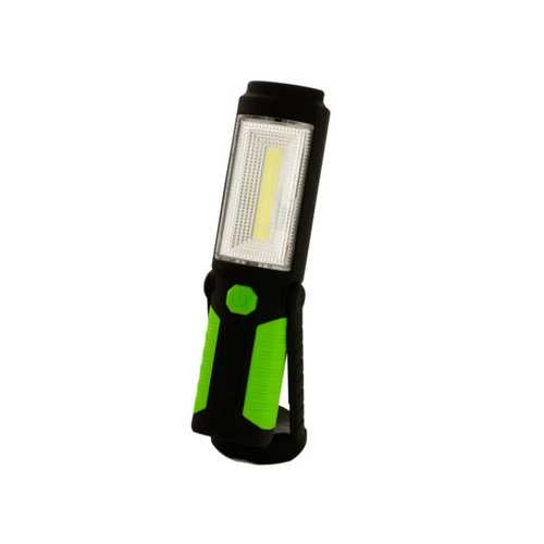 Green & Black LED Work Light with Magnetic Base & Hook ( Case of 8 )