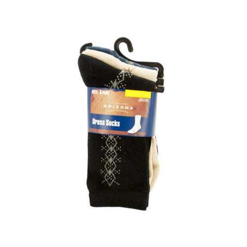 Boys' Large Argyle Dress Socks Set ( Case of 36 )