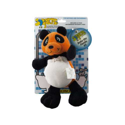 Bobo the Panda Soapets Plush Toy Soap & Sponge Holder ( Case of 24 )