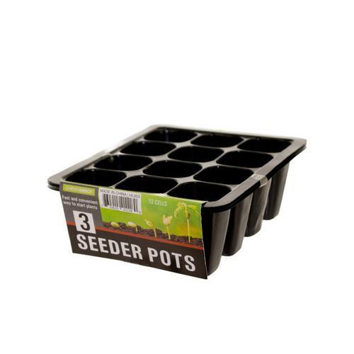 Seeder Pots Set ( Case of 72 )
