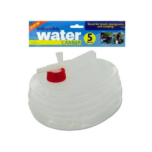 5 qt Collapsible Water Carrier ( Case of 6 )