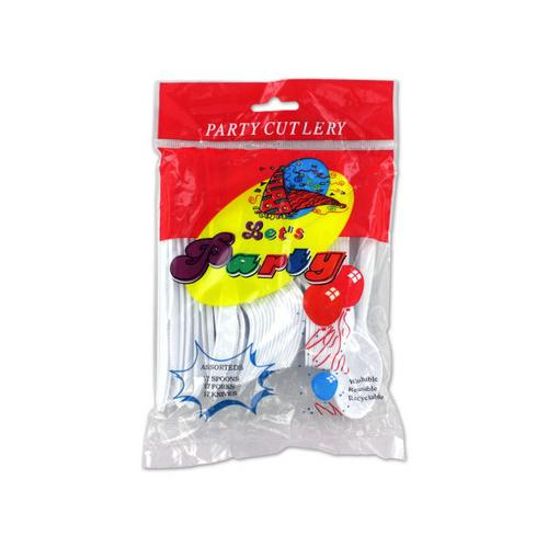 Plastic Cutlery Set ( Case of 48 )