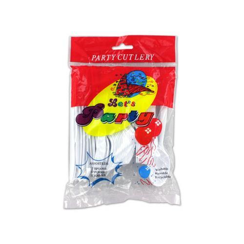 Plastic Cutlery Set ( Case of 96 )