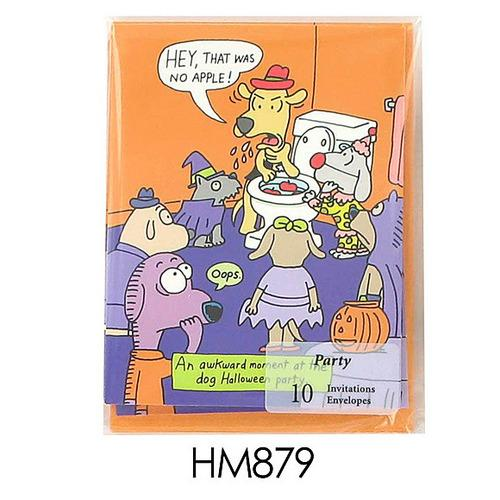 Funny Halloween Invitations ( Case of 24 )