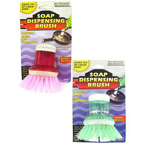Soap Dispensing Brush ( Case of 48 )