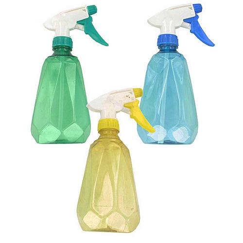 15 oz Diamond-Shaped Plastic Spray Bottle ( Case of 48 )