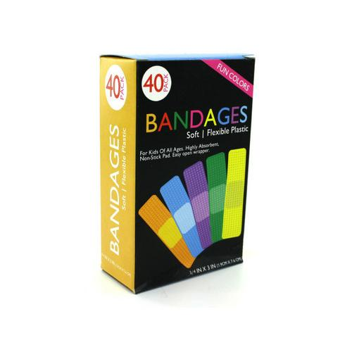 Fun Color Bandages ( Case of 12 )