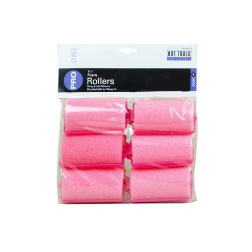 "6 Count 1 1/2"" Foam Rollers ( Case of 24 )"