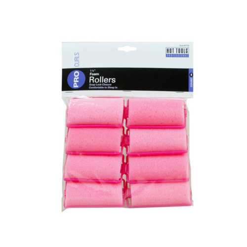 "8 Count 1 1/4"" Foam Rollers ( Case of 24 )"
