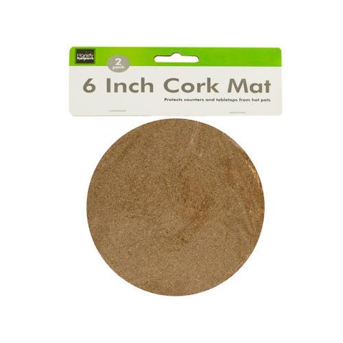 Medium Cork Mat Set ( Case of 24 )
