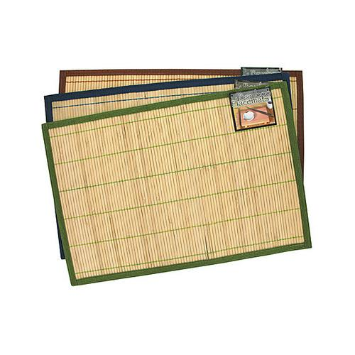 Striped Bamboo Placemat ( Case of 24 )