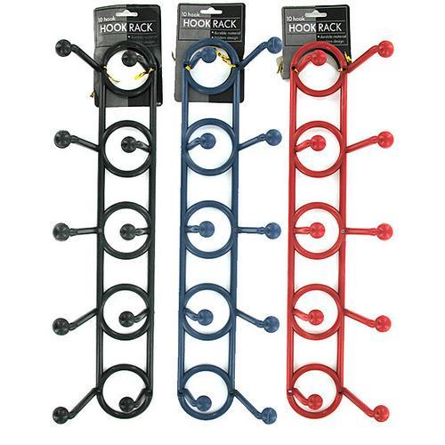 Plastic Hook Rack ( Case of 50 )
