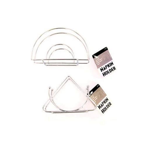 Wire Chrome Napkin Holder ( Case of 24 )