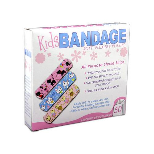 Bandages with Kids Designs ( Case of 48 )