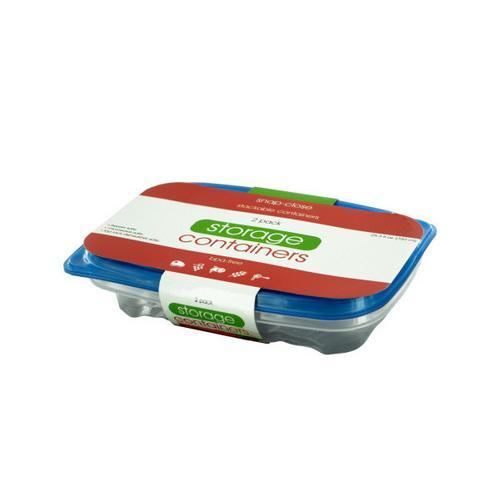 253 oz Rectangular Food Storage Container Set ( Case of 36 )
