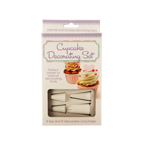 Cupcake Decorating Set ( Case of 18 )