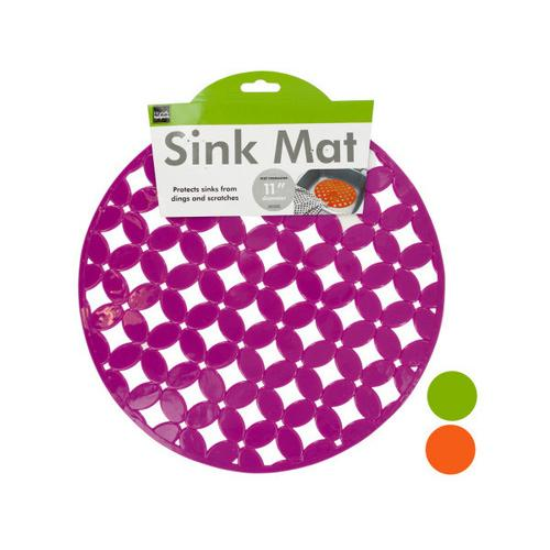 Decorative Round Sink Mat ( Case of 48 )