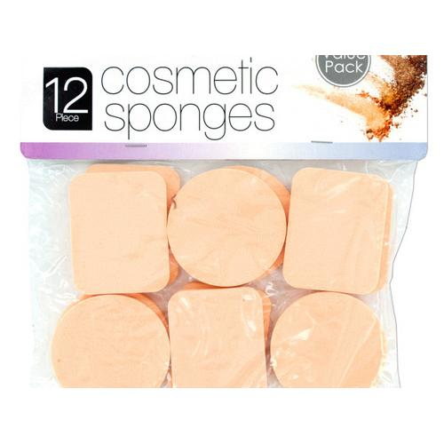 Cosmetic Sponges Set ( Case of 12 )