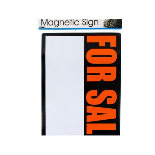 magnetic 'for sale' sign ( Case of 72 )