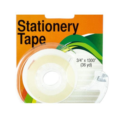 Clear Stationery Tape in Dispenser ( Case of 48 )