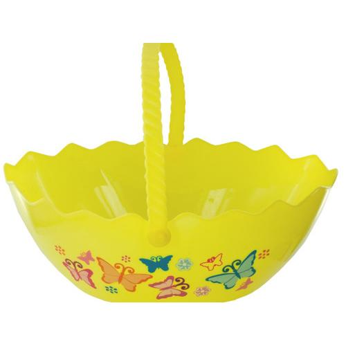 Egg Shape Printed Easter Basket ( Case of 72 )