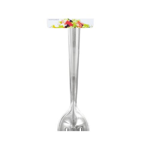 Disposable Plastic Serving Forks & Spoons ( Case of 48 )